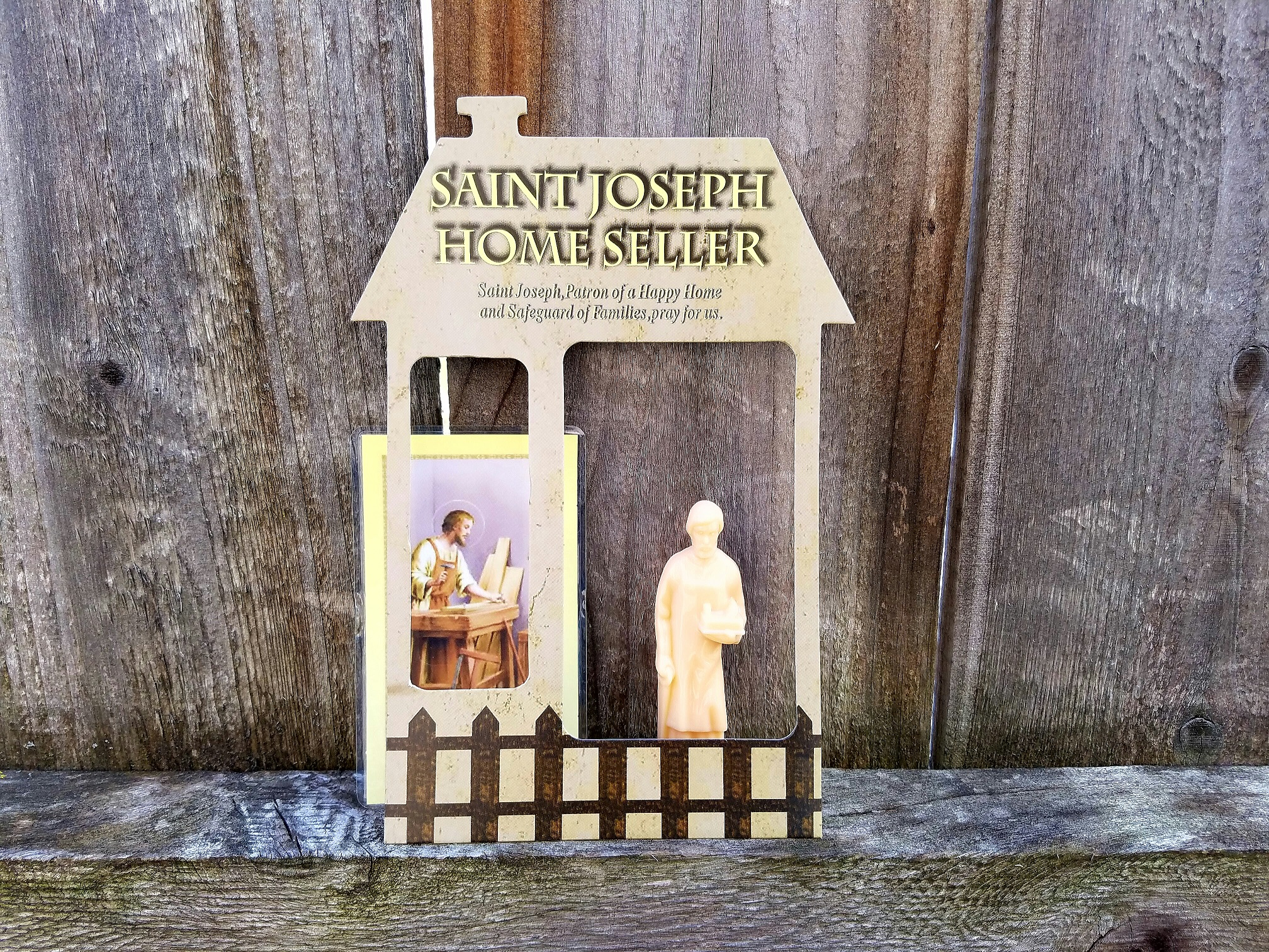 will a st joseph statue help me sell my home the art of happy moving. Black Bedroom Furniture Sets. Home Design Ideas