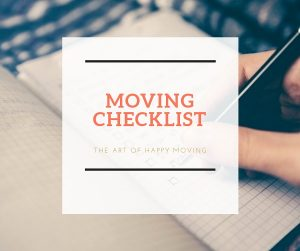 Moving Checklist_The Art of Happy Moving